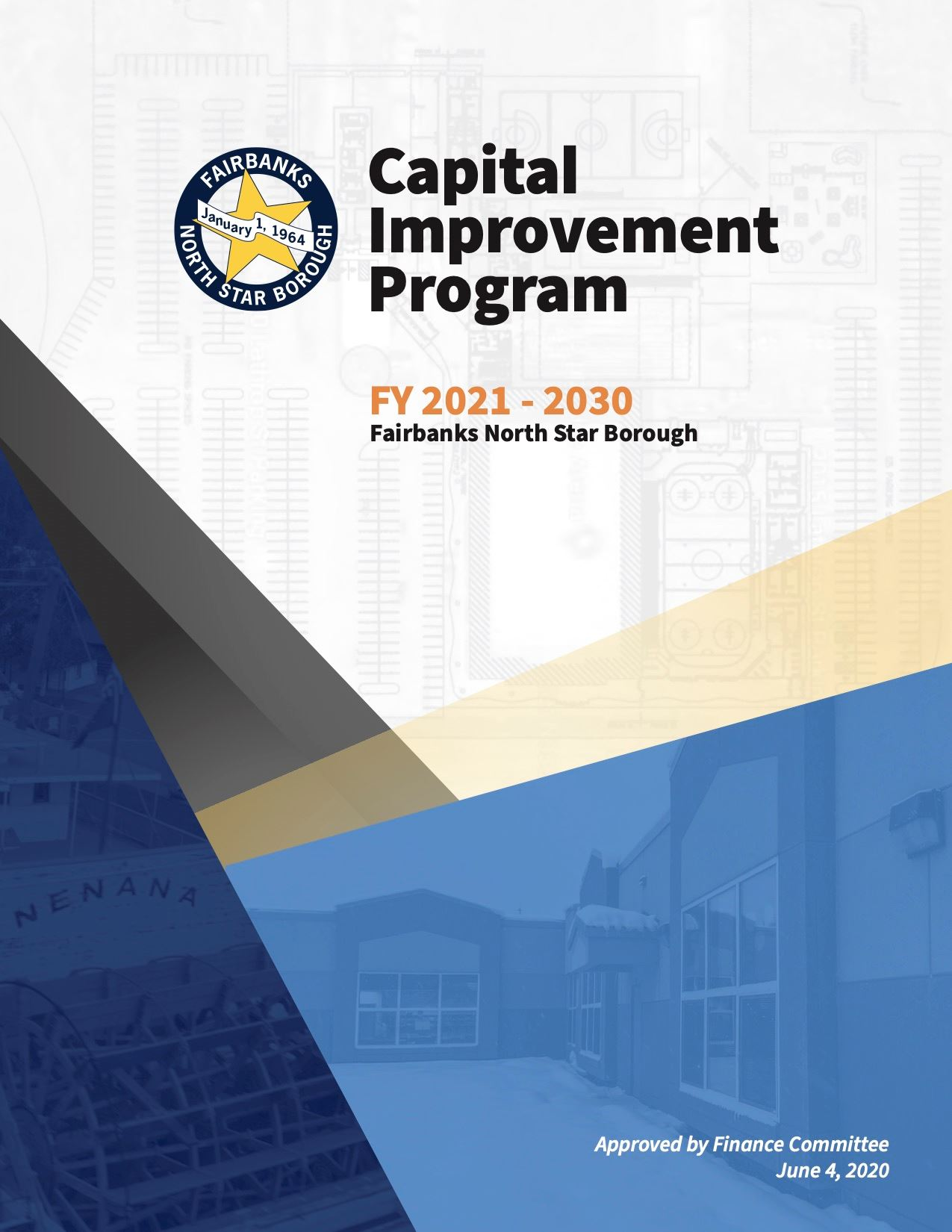 2021 to 2030 Fiscal Year Capital Improvement Program Cover (PDF)
