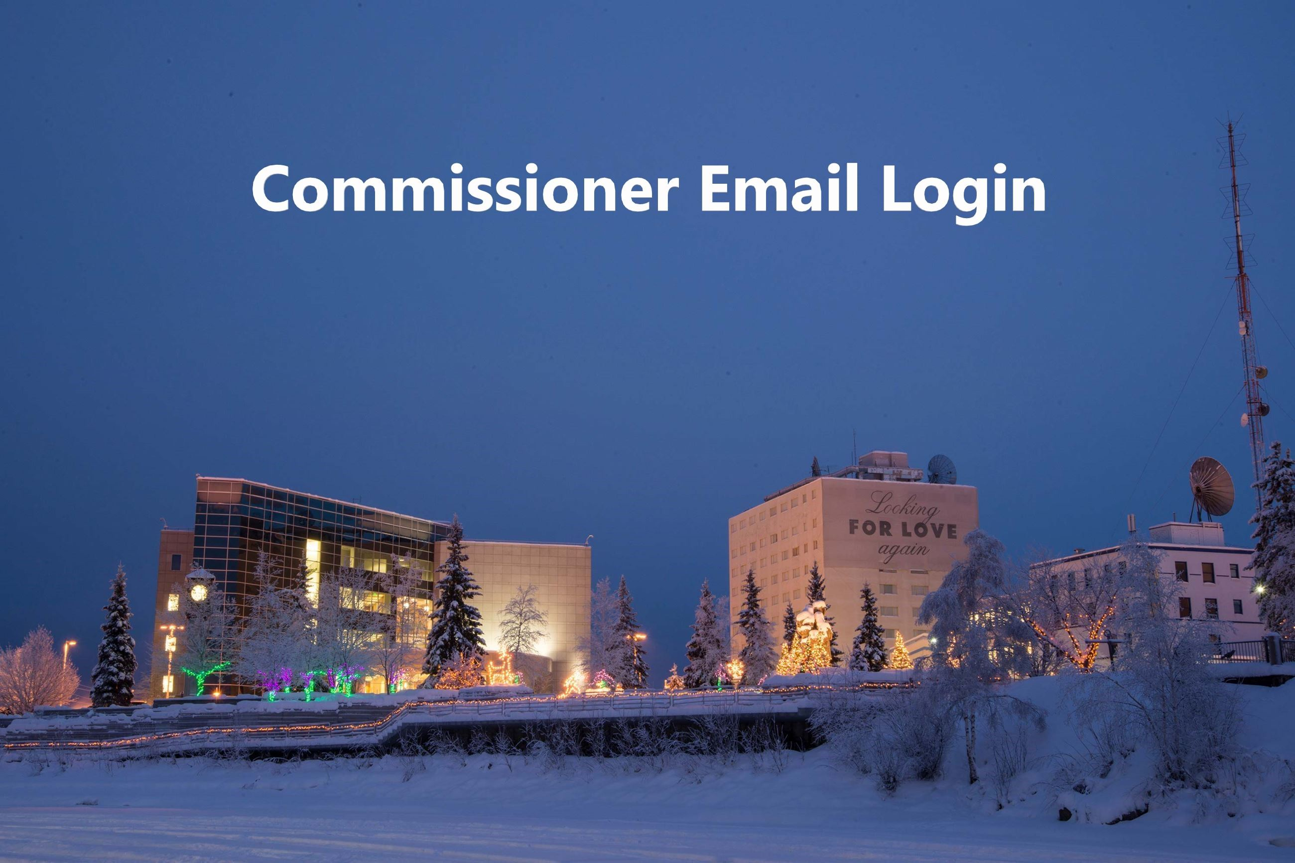 Commissioner Email Login Photo